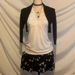 3 piece outfit all size small.